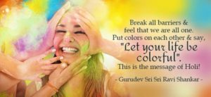 The Holy message of Holi